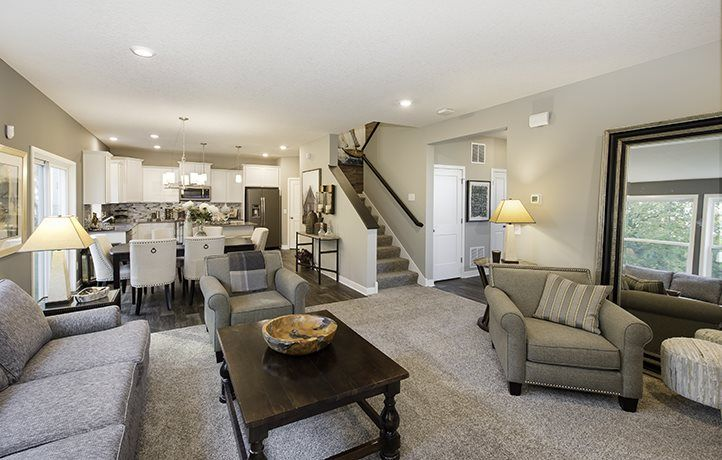 Living Area featured in the Columbus EI By Lennar in Minneapolis-St. Paul, MN