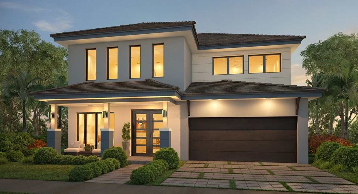 Exterior featured in the Oasis By Lennar in Miami-Dade County, FL