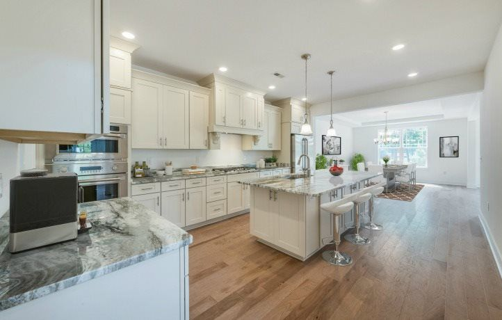 Kitchen featured in the Pebble Beach By Lennar in Mercer County, NJ