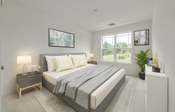 Bedroom featured in the Pebble Beach By Lennar in Mercer County, NJ