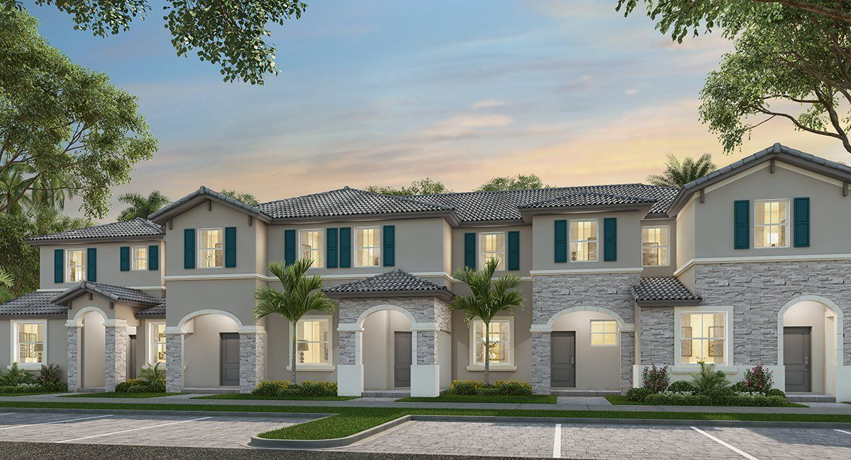 Exterior featured in the Casis By Lennar in Miami-Dade County, FL