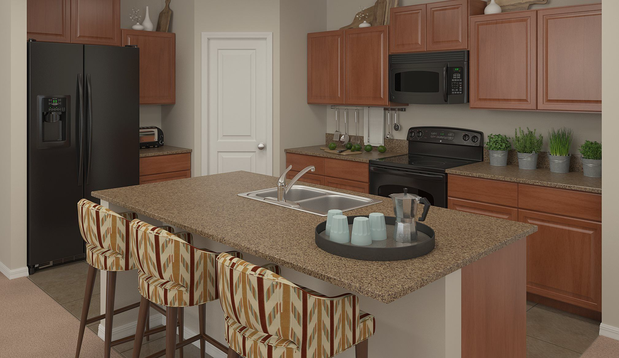 Kitchen featured in the Atlanta By Lennar in Tampa-St. Petersburg, FL
