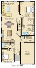 Astor - Two-Story - Venue at Smithville Greene - Smithville Greene Carriage Homes: Eastampton, Pennsylvania - Lennar