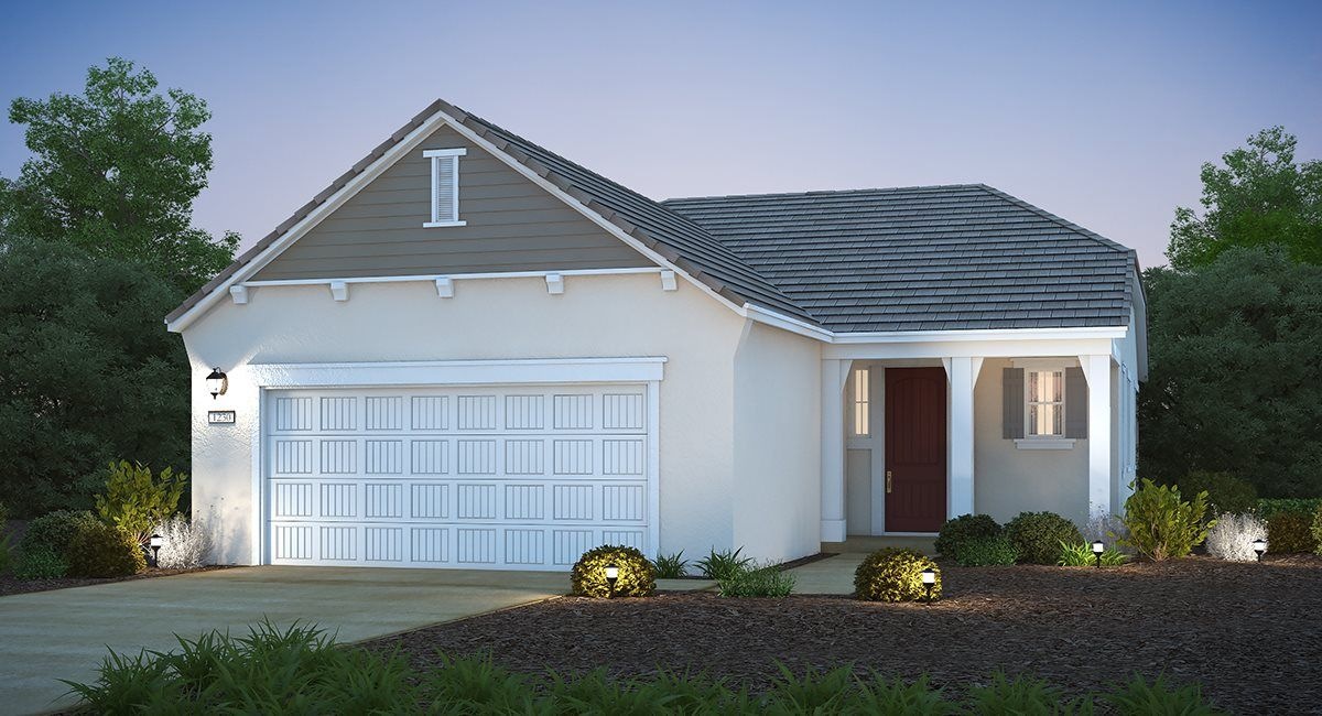 Exterior featured in The Ruby - Plan 1230 By Lennar in Sacramento, CA