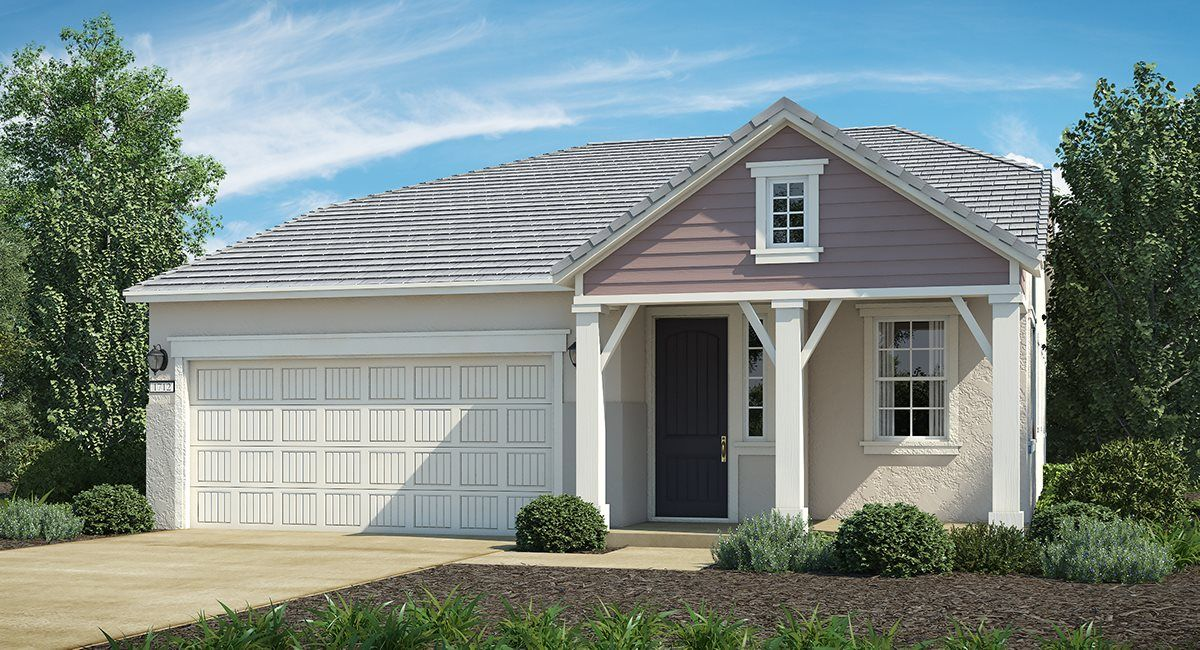 Exterior featured in The Emerald - Plan 1712 By Lennar in Sacramento, CA