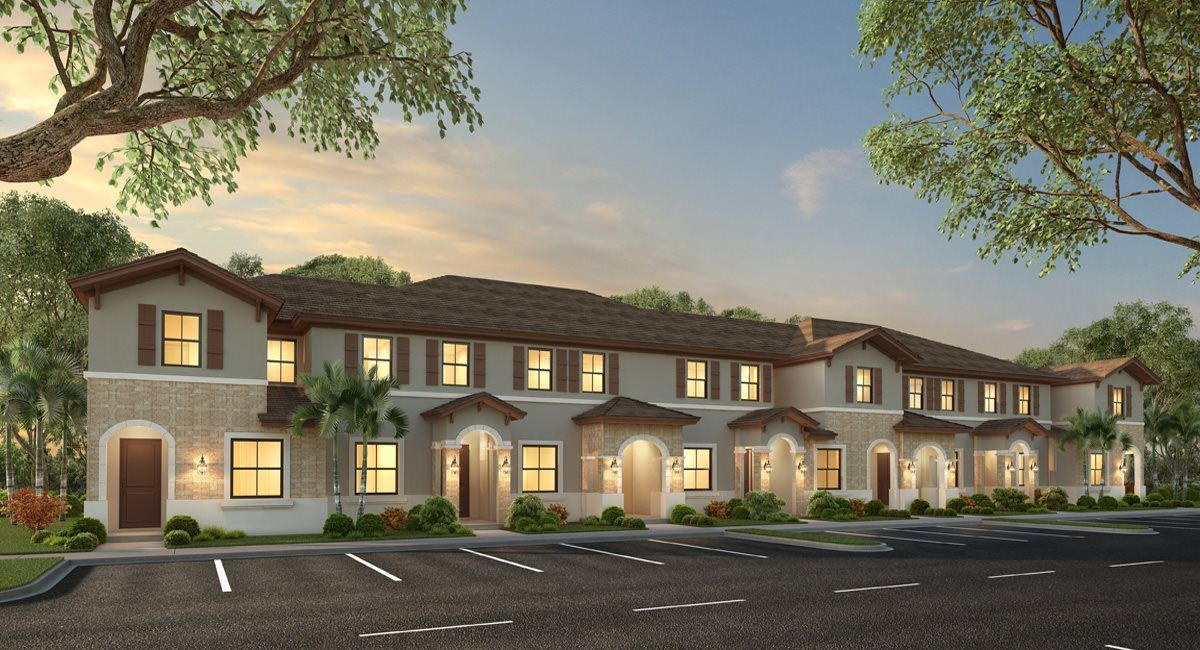 Exterior featured in the Belmar By Lennar in Miami-Dade County, FL