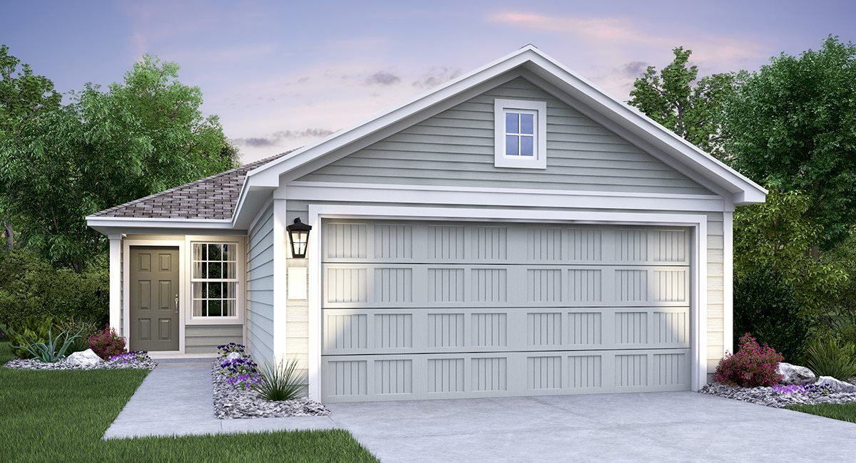 Exterior featured in the Cadley By Lennar in San Antonio, TX