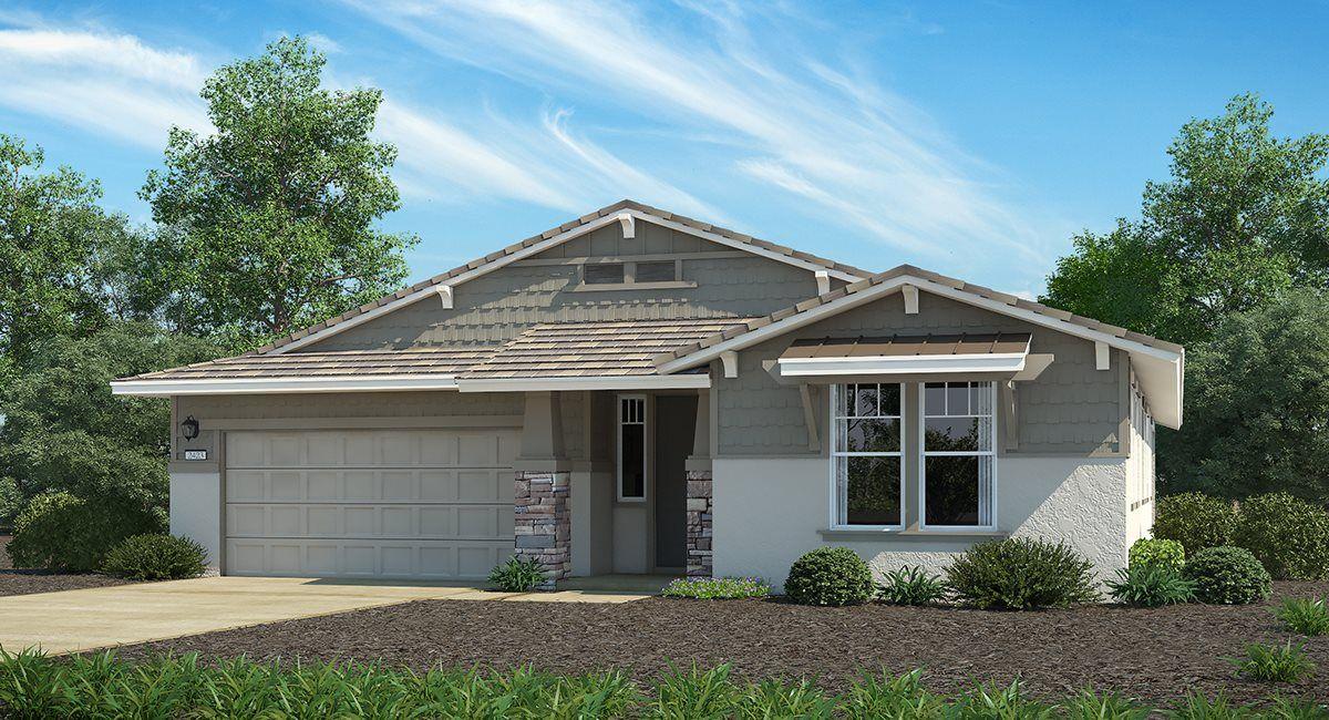 Exterior featured in The Santa Barbara - Plan 2423 By Lennar in Sacramento, CA