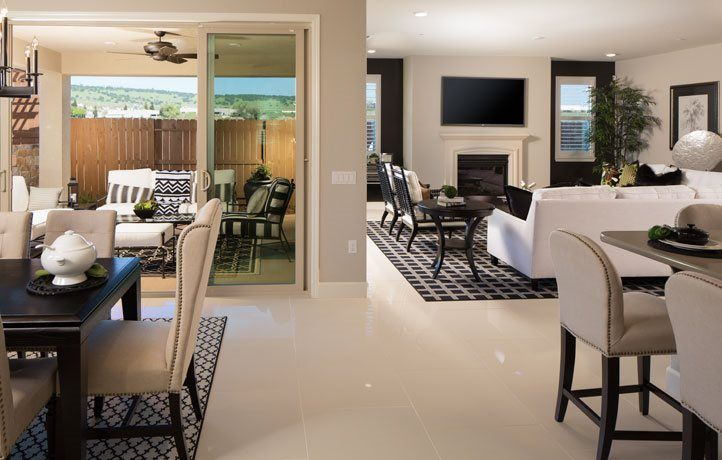 Living Area featured in The Santa Barbara - Plan 2423 By Lennar in Sacramento, CA