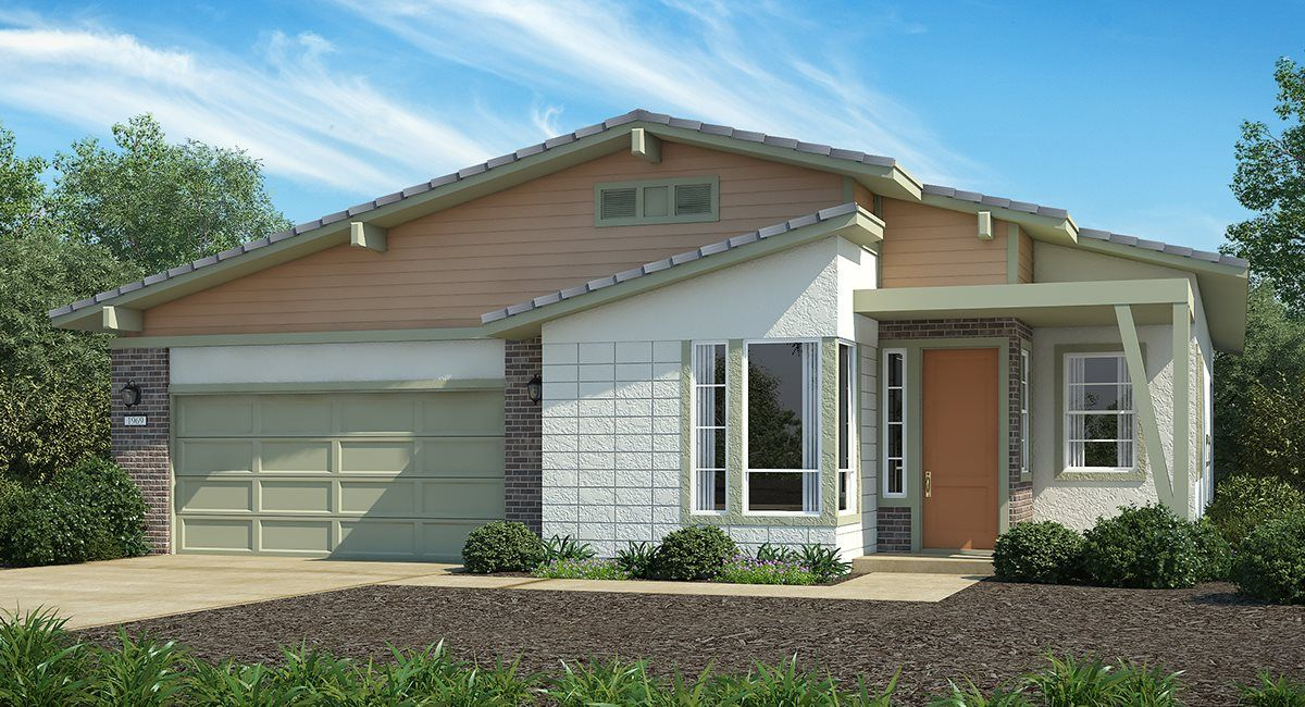 Exterior featured in The Monterey - Plan 1977 By Lennar in Sacramento, CA