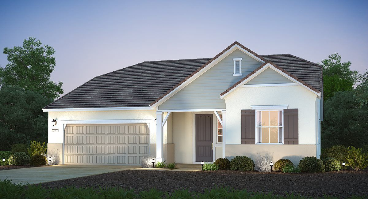 Exterior featured in The Montecito - Plan 2213 By Lennar in Sacramento, CA