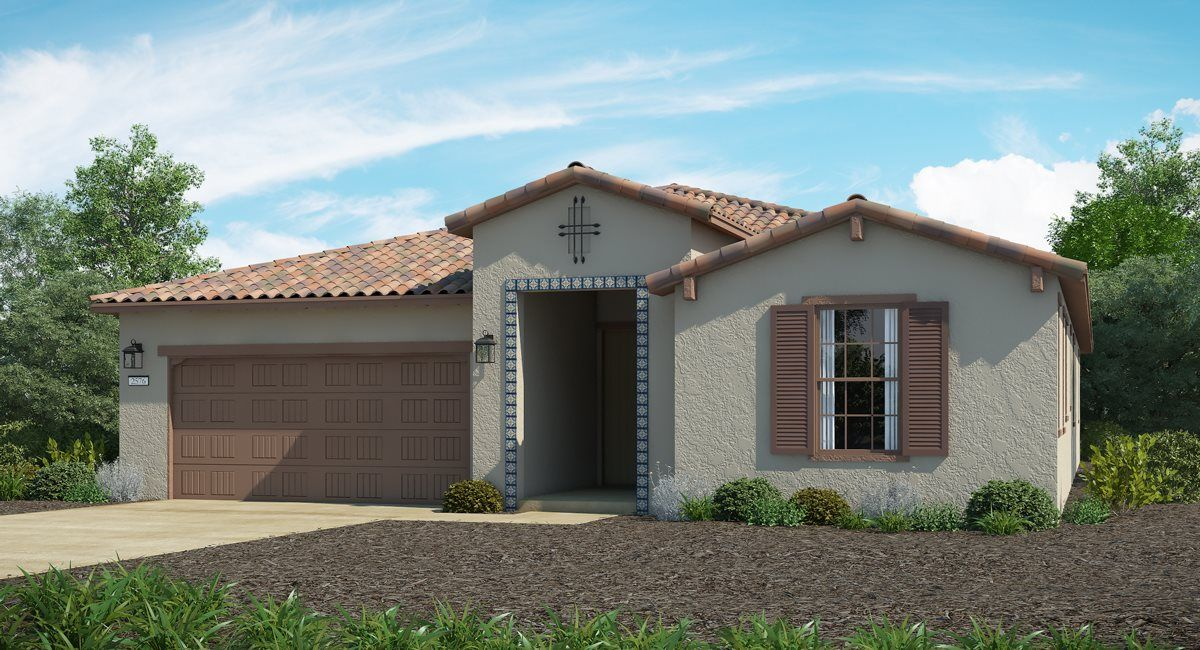 Exterior featured in The San Marcos - Plan 2576 By Lennar in Sacramento, CA