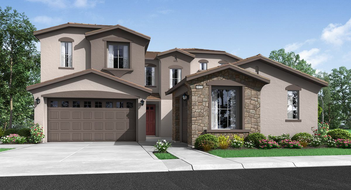 Exterior featured in the Residence 3512 By Lennar in Sacramento, CA