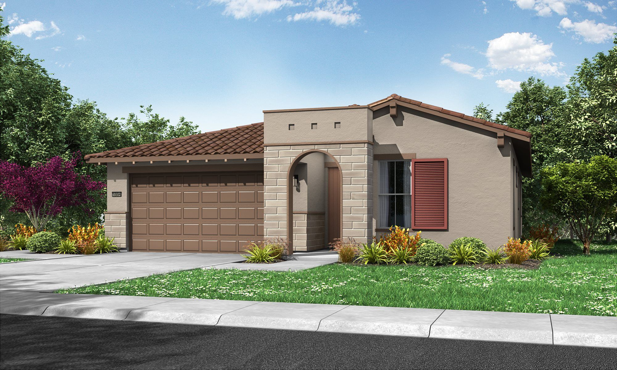 Exterior featured in the Residence 1884 By Lennar in Sacramento, CA