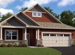 Brighton Patio EI - Laurel Creek - Lifestyle Villa Collection: Osseo, Minnesota - Lennar