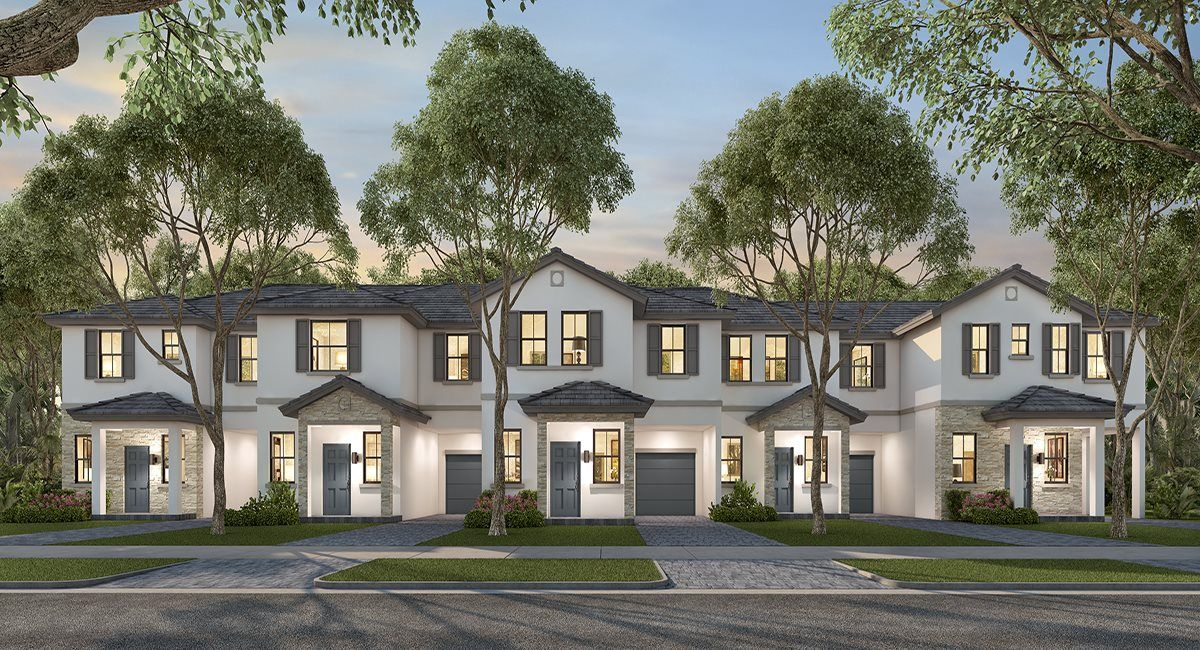 Exterior featured in the Model B By Lennar in Broward County-Ft. Lauderdale, FL