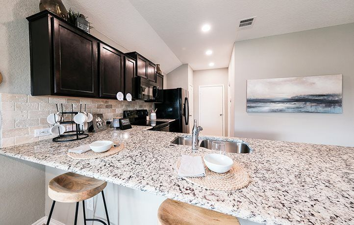 Kitchen featured in the Roffee By Lennar in San Antonio, TX