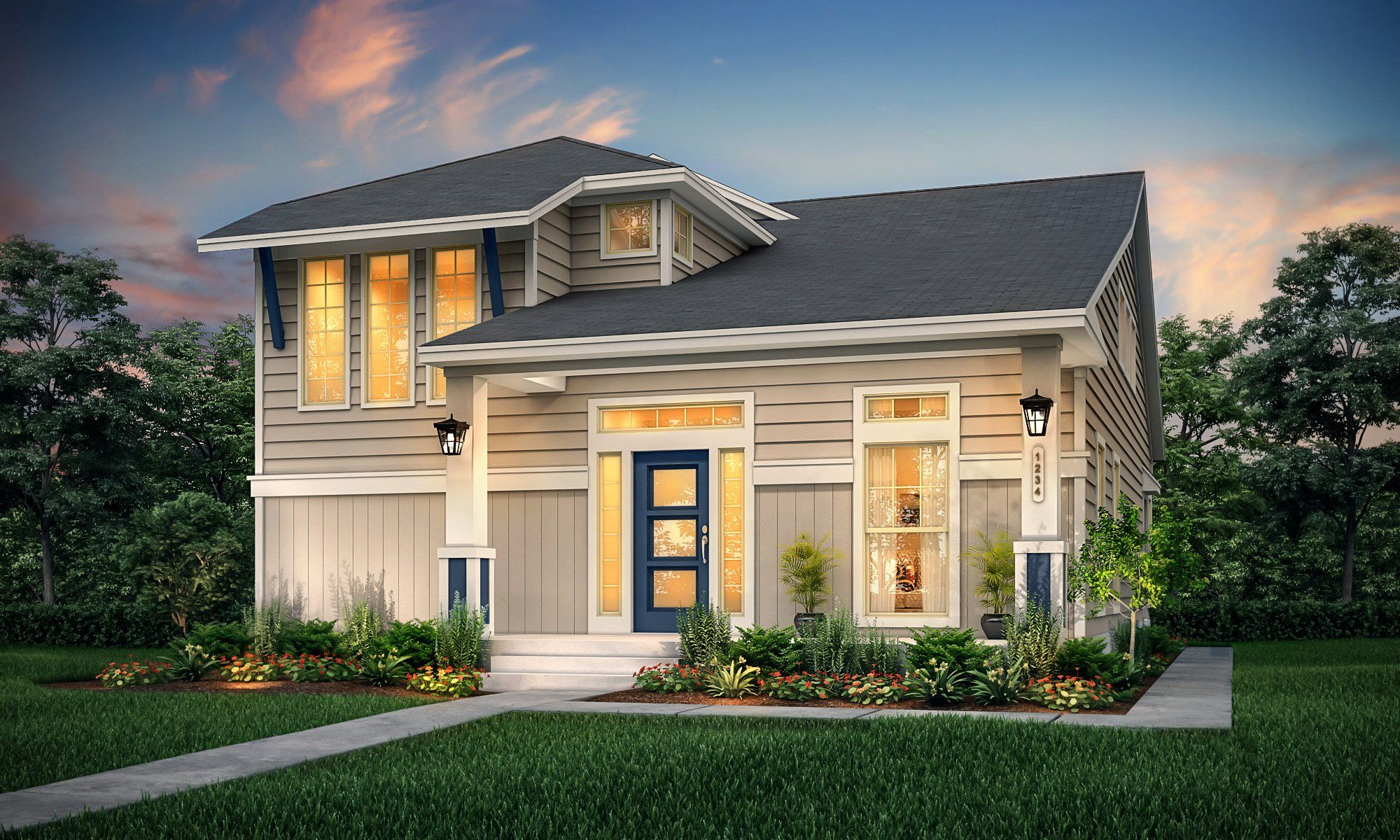 Exterior featured in the Saybrook By Lennar in Houston, TX