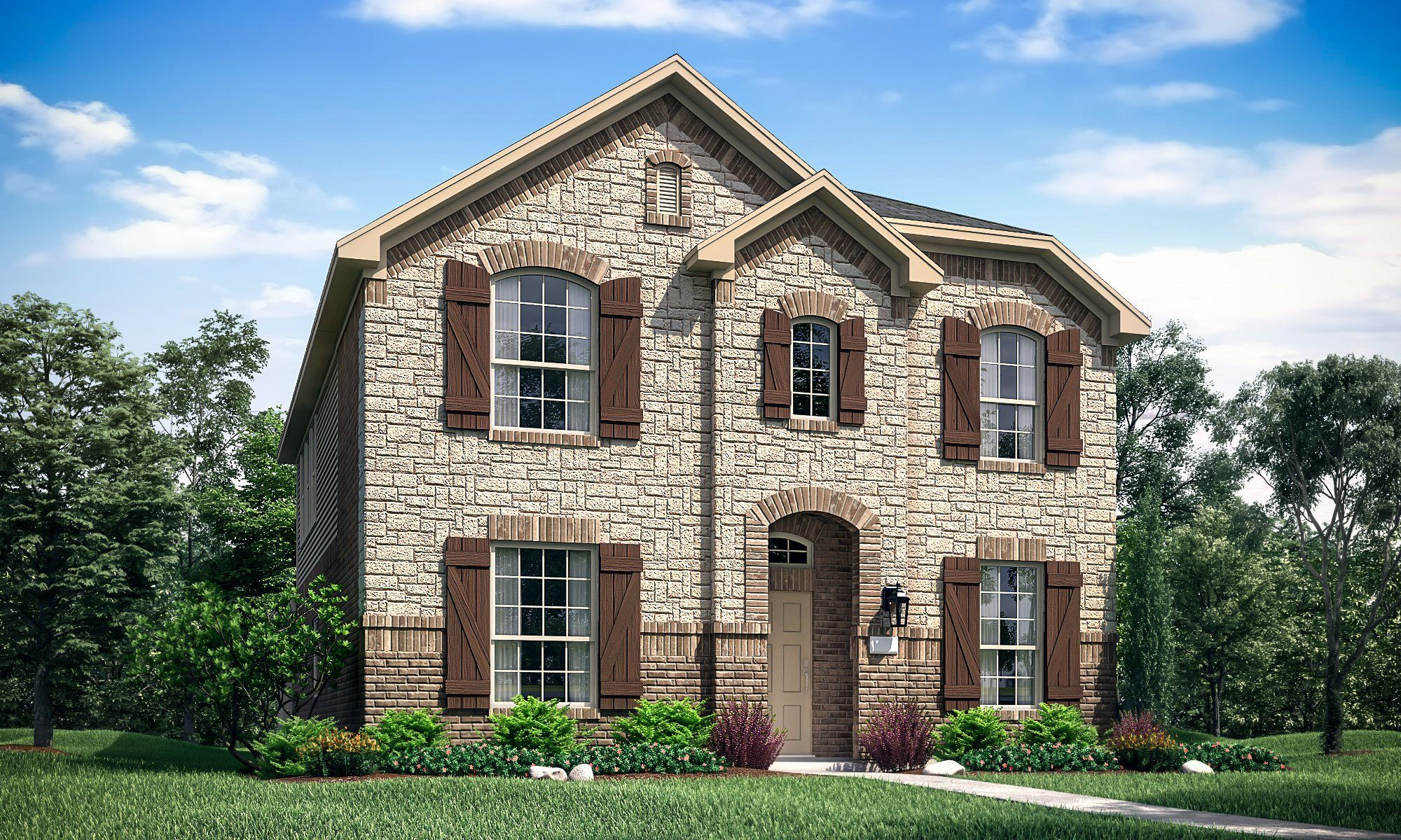 Exterior featured in the Topaz By Lennar in Dallas, TX