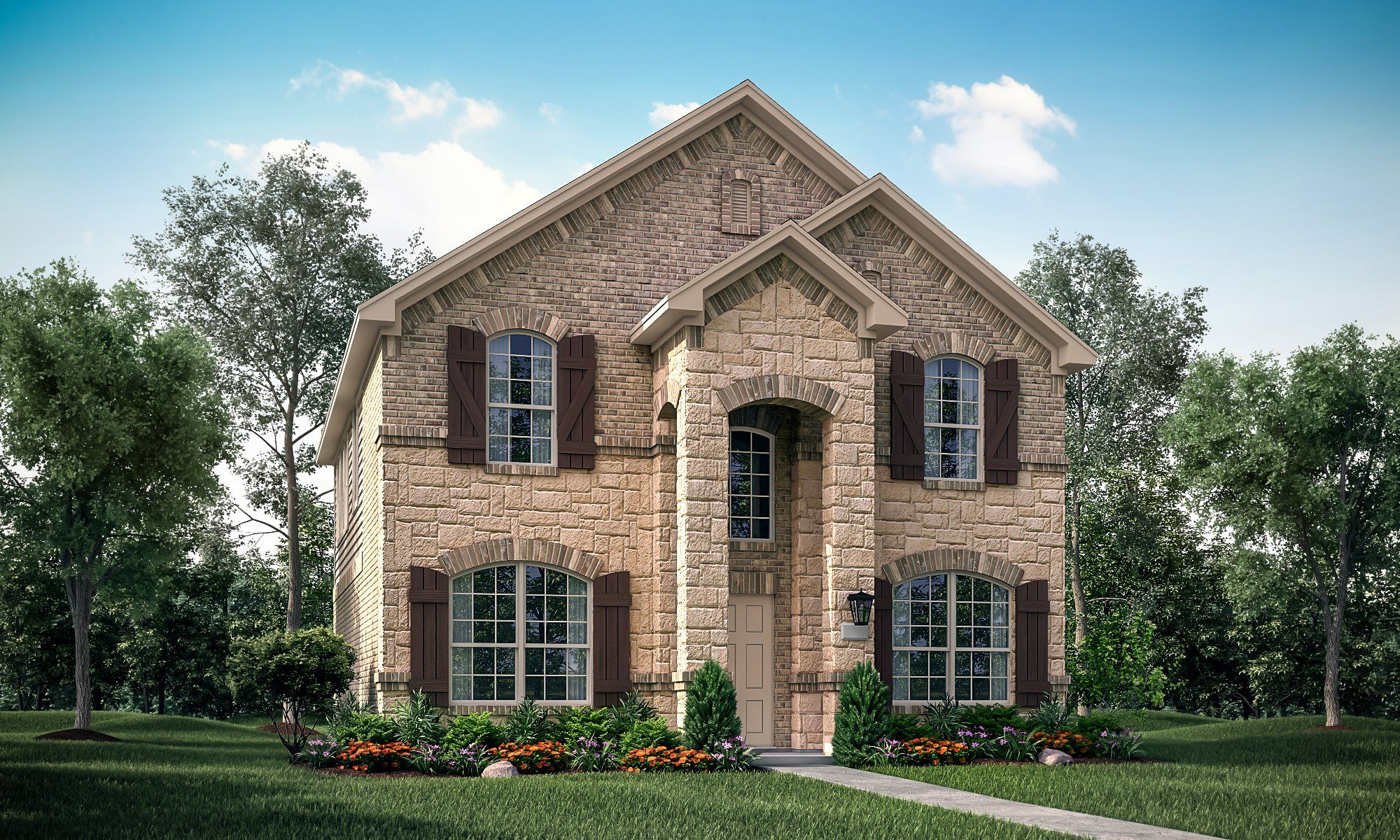 Exterior featured in the Sapphire II By Lennar in Dallas, TX