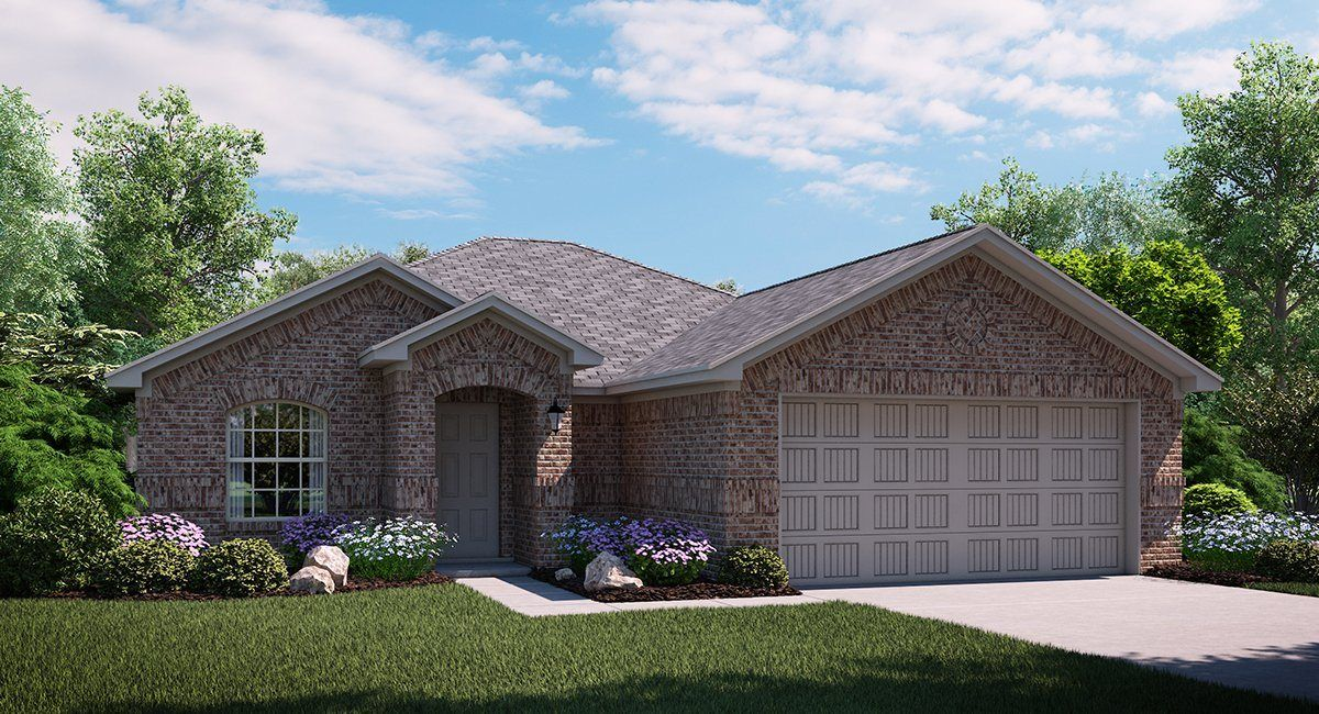 Exterior featured in the Sunflower By Lennar in Dallas, TX