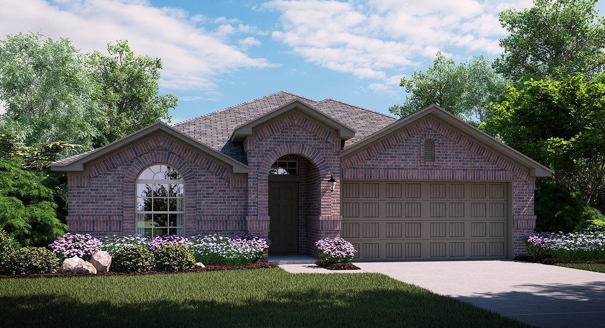 Exterior featured in the Bluebonnet By Lennar in Dallas, TX