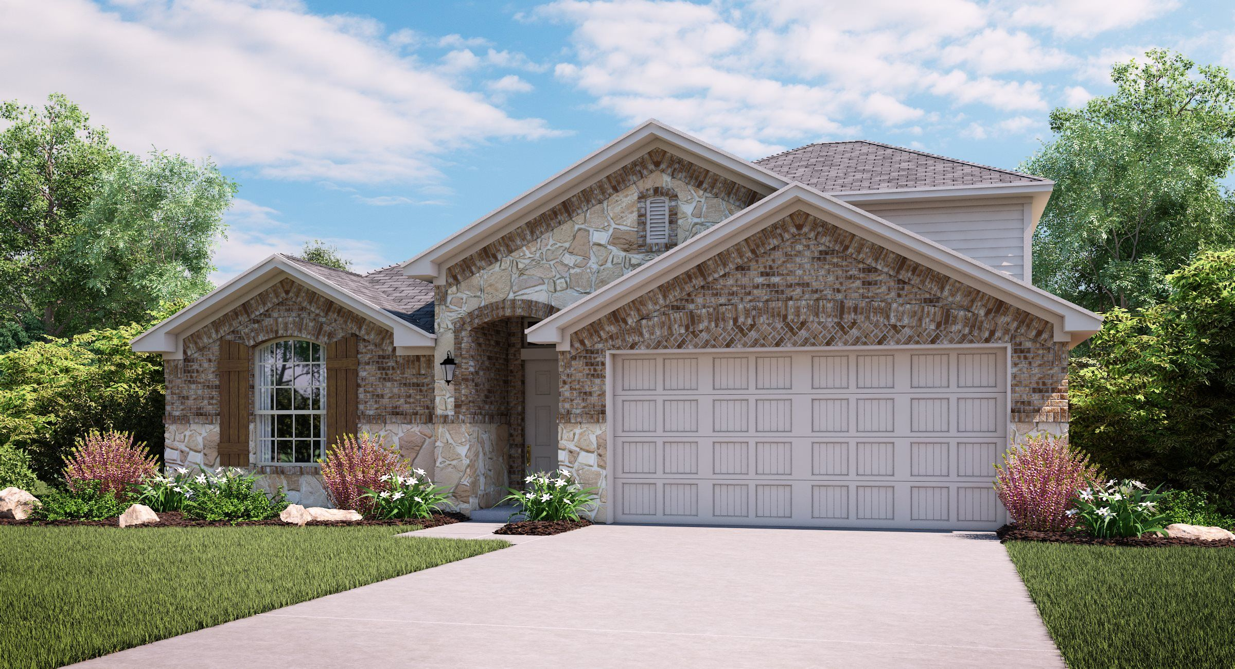 Exterior featured in the Daylily By Lennar in Dallas, TX