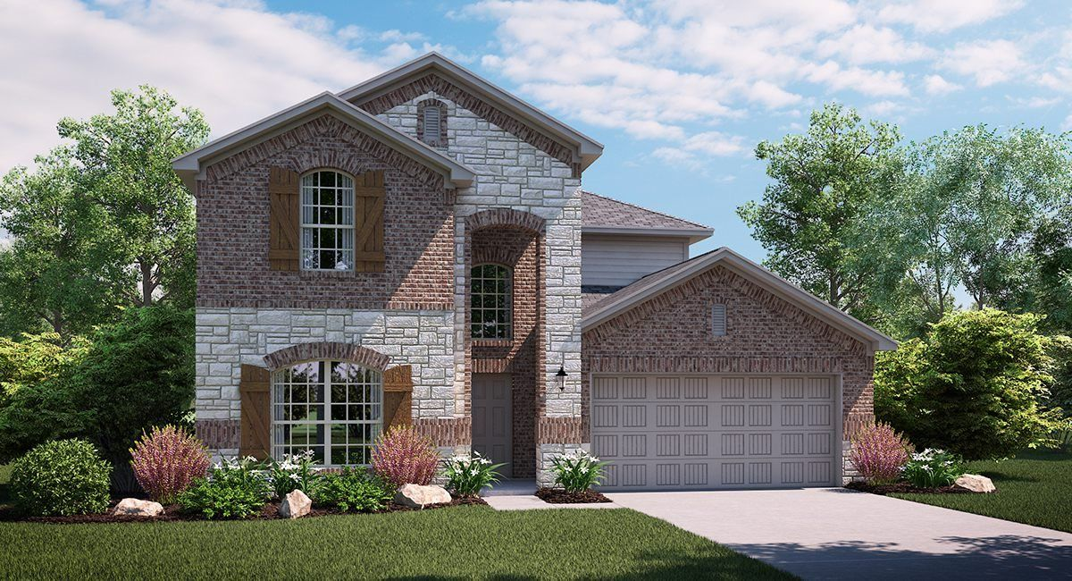 Exterior featured in the Hibiscus By Lennar in Dallas, TX