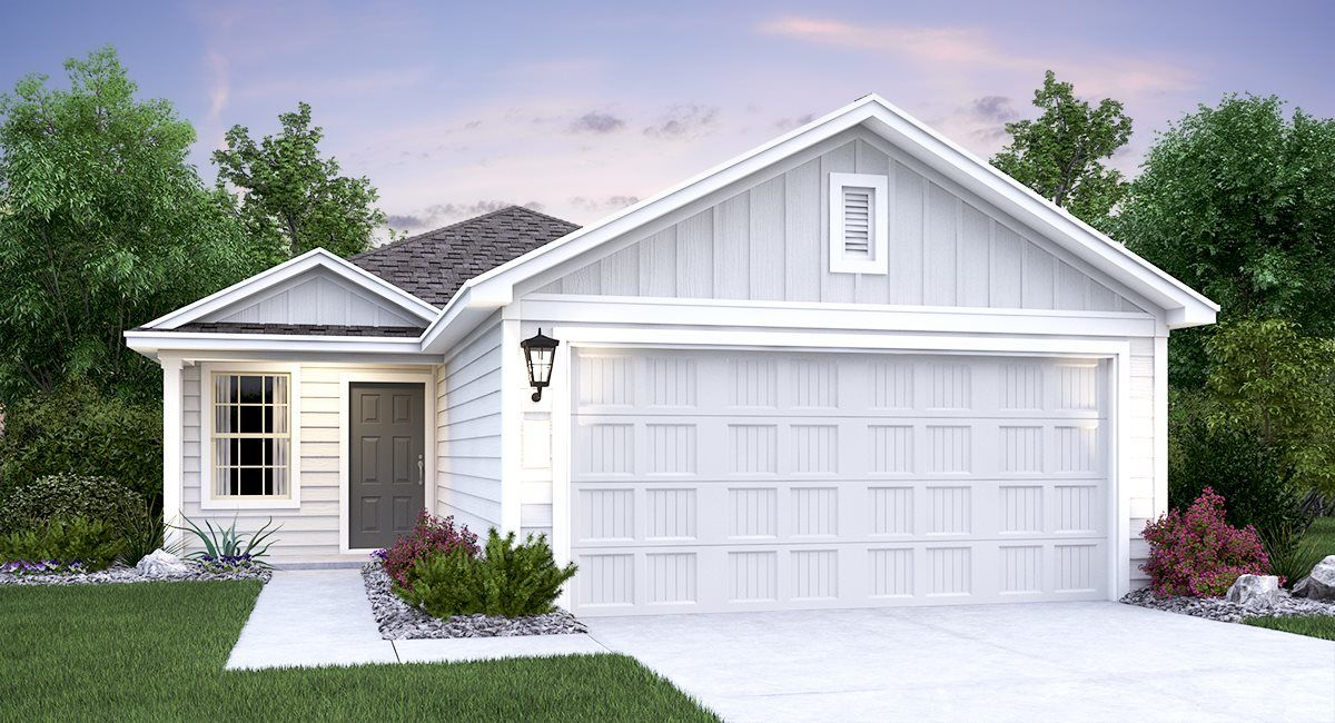 Exterior featured in the Rundle By Lennar in San Antonio, TX