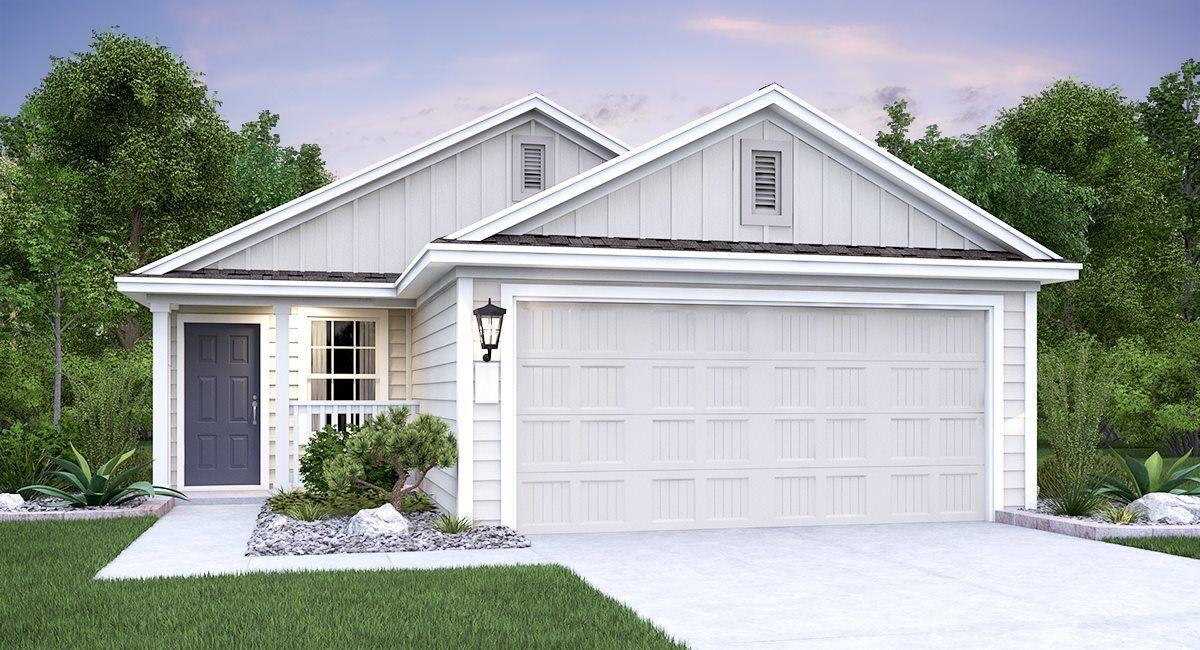 Exterior featured in the Drexel By Lennar in San Antonio, TX