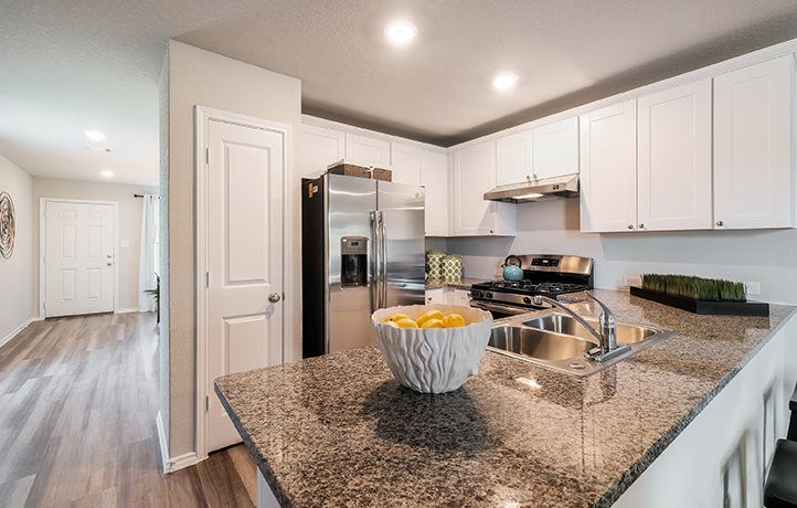 Kitchen featured in the Drexel By Lennar in San Antonio, TX
