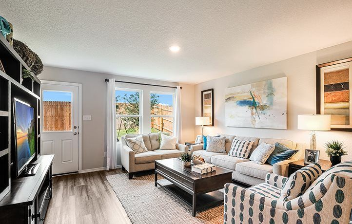 Living Area featured in the Drexel By Lennar in San Antonio, TX