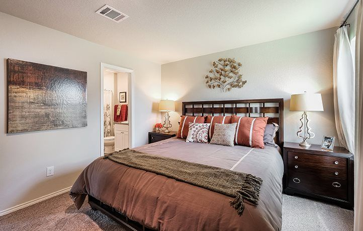 Bedroom featured in the Drexel By Lennar in San Antonio, TX