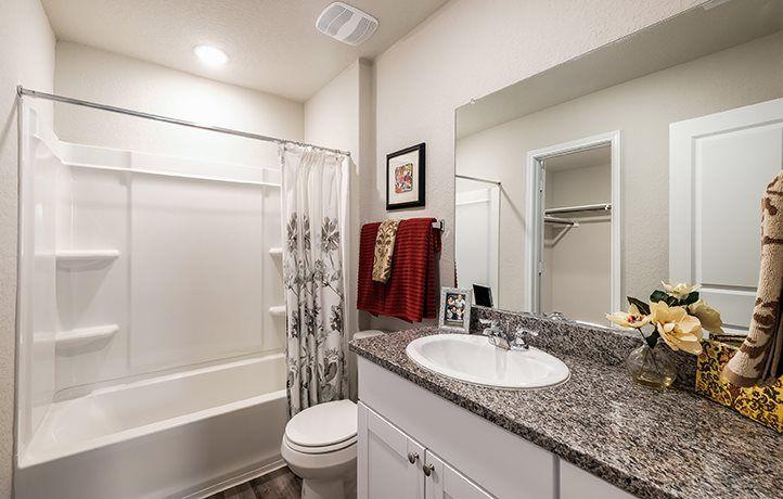 Bathroom featured in the Drexel By Lennar in San Antonio, TX