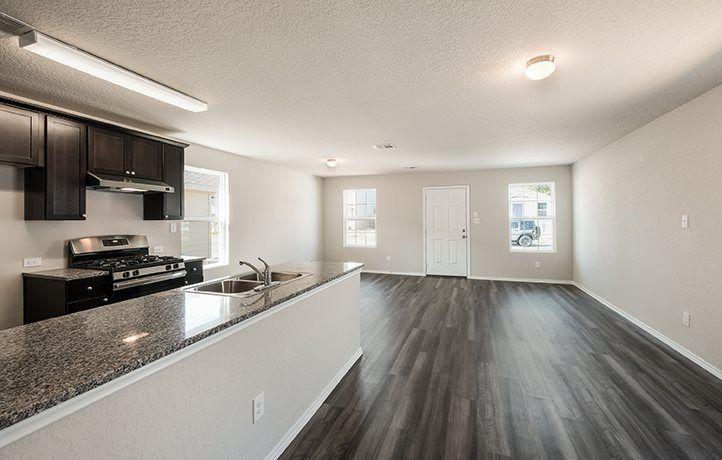 Kitchen featured in the Bristol By Lennar in San Antonio, TX