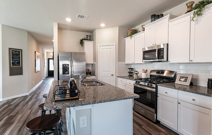 Kitchen featured in the Huxley By Lennar in San Antonio, TX