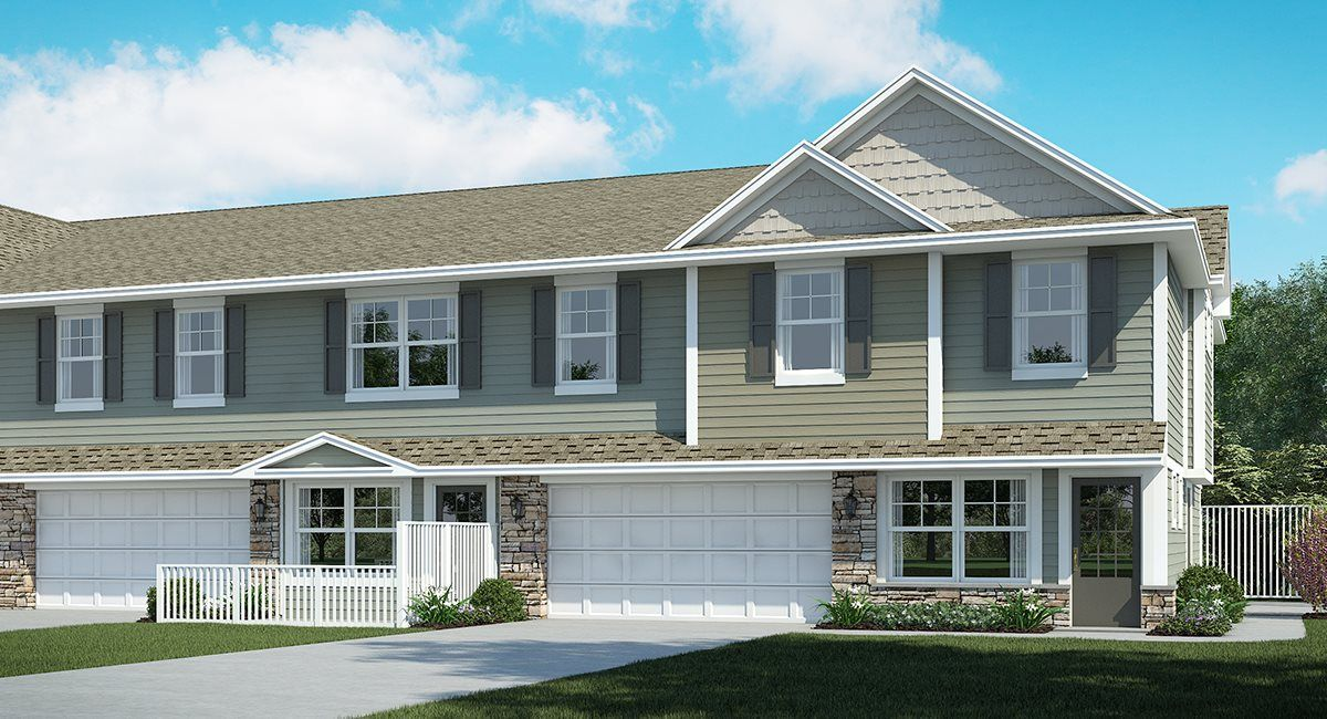 Exterior featured in the Franklin EI By Lennar in Minneapolis-St. Paul, MN