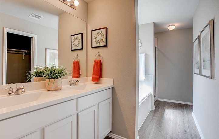 Bathroom featured in the Houghton By Lennar in San Antonio, TX
