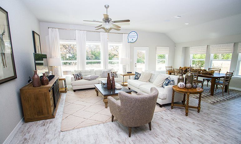 Living Area featured in the Gilson By Lennar in San Antonio, TX