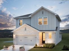 Bisset - Rancho Sienna - Malone Collection: Georgetown, Texas - Lennar