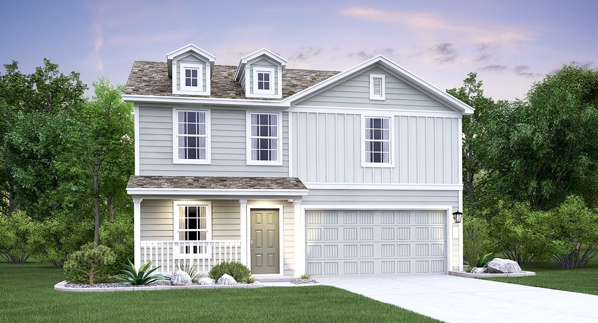 Exterior featured in the Selsey By Lennar in San Antonio, TX