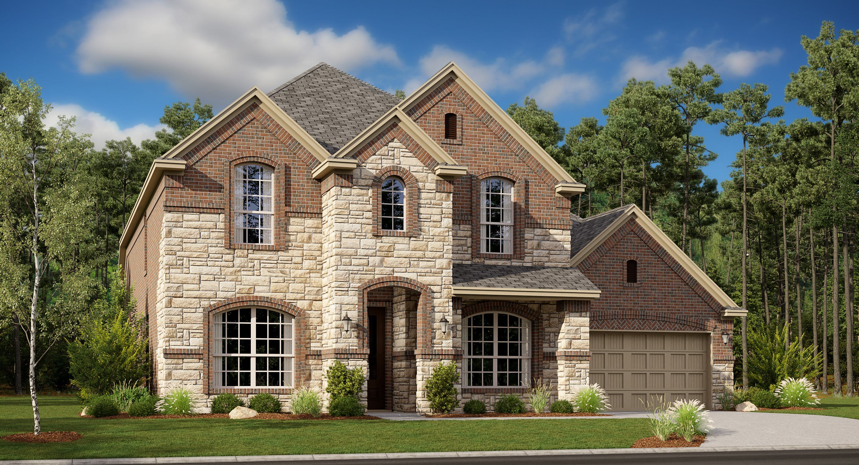 Exterior featured in the Sierra Mesa II By Lennar in Fort Worth, TX