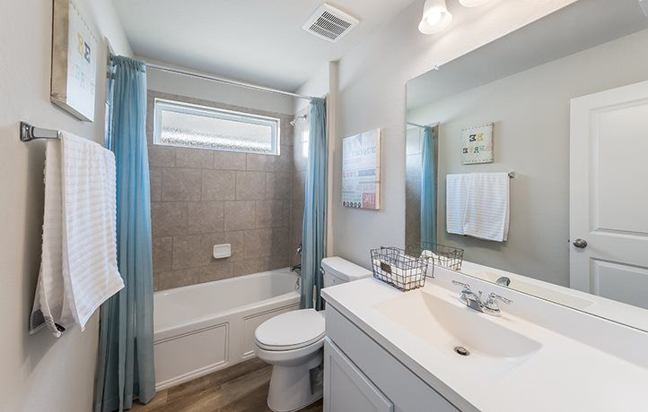 Bathroom featured in the Langley By Lennar in San Antonio, TX