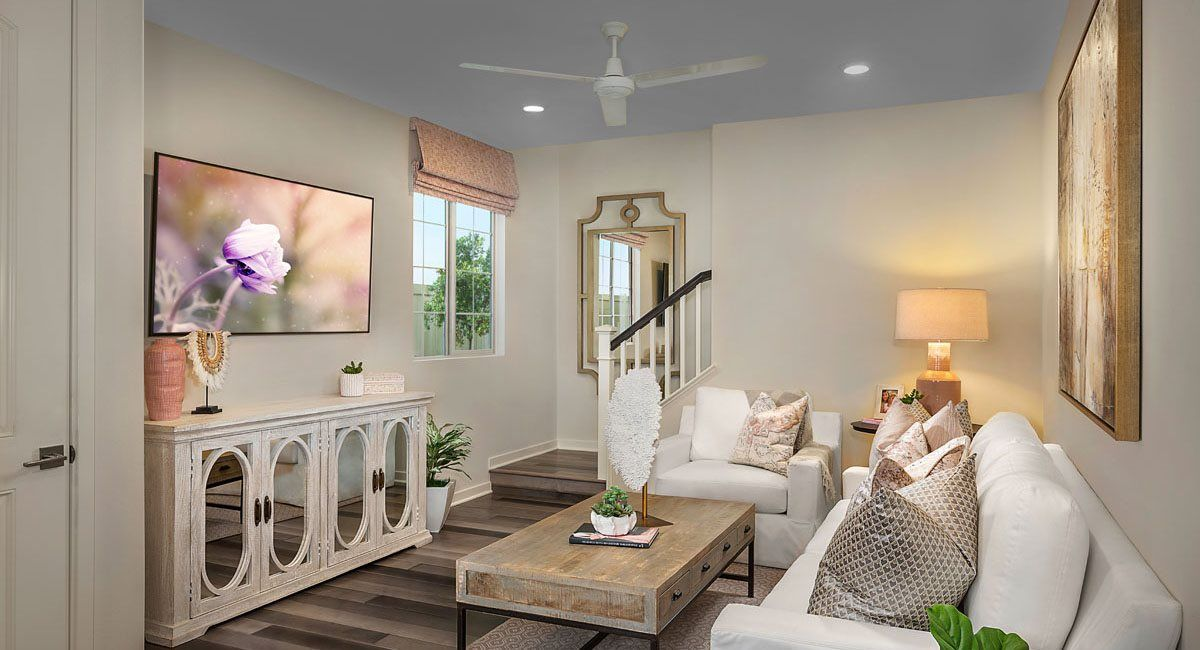 Living Area featured in the Residence One By Lennar in Riverside-San Bernardino, CA