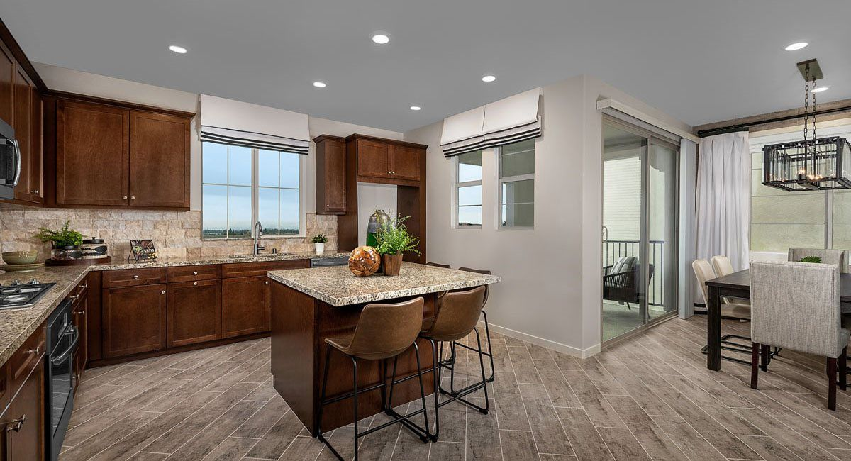 Kitchen featured in the Residence Three By Lennar in Riverside-San Bernardino, CA