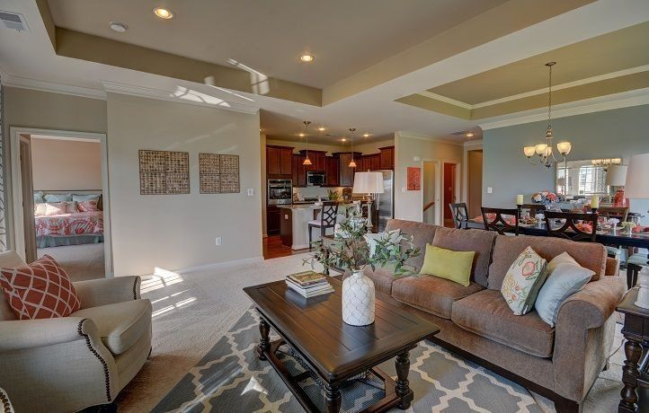 Living Area featured in the Camden Basement By Lennar in Norfolk-Newport News, VA