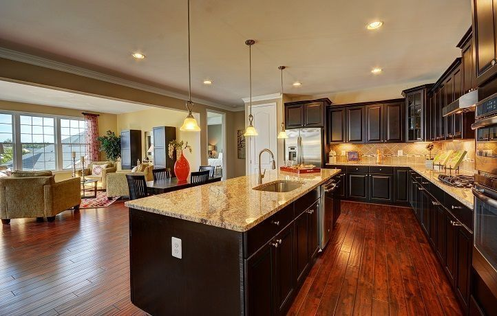 Kitchen featured in the Berkeley By Lennar in Norfolk-Newport News, VA
