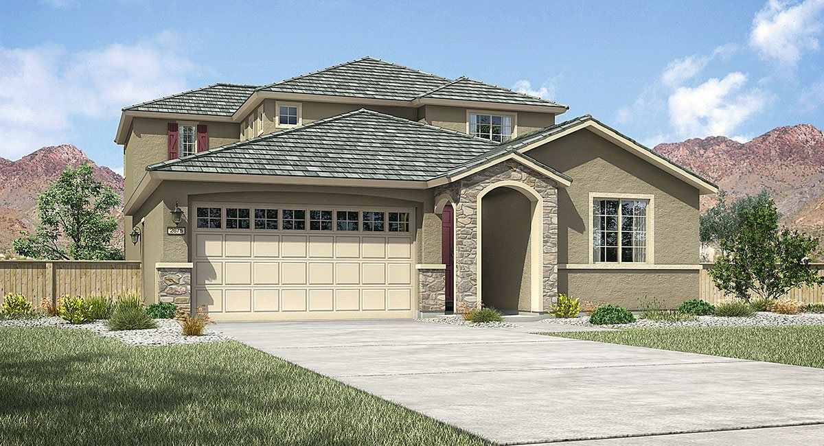 Exterior featured in The Santa Maria By Lennar in Reno, NV