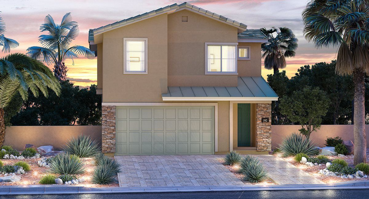 Exterior featured in the Lynn By Lennar in Las Vegas, NV