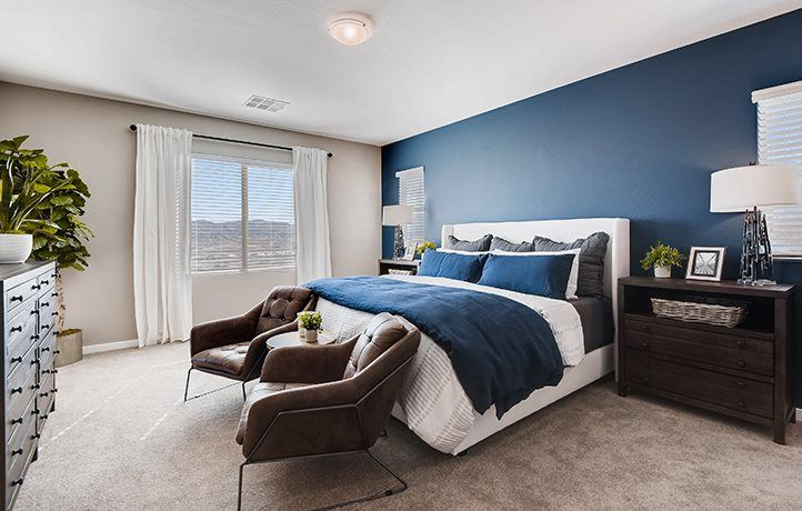 Bedroom featured in the Morgan By Lennar in Las Vegas, NV